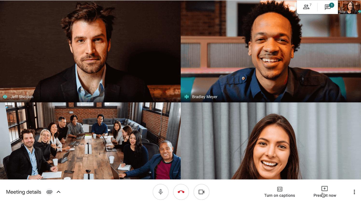 google meet for remote work